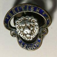 Antique Numbered British Legion Badge