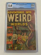 ADVENTURES INTO WEIRD WORLDS #1 CGC 5.0 ATLAS JANUARY 1952 CR / OFF-WHITE (SA)