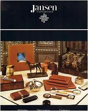 ▬► PUBLICITE ADVERTISING AD JANSEN Mobilier Décoration Cadeaux