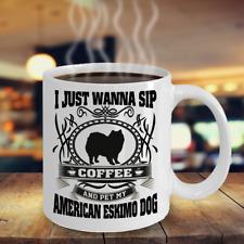 American Eskimo Dog,Cloud Spitz,American Spitz,Cloud,Eskie,Cup,Ger man Spitz,Mugs