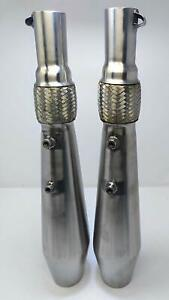 Silencer Exhaust for Royal Enfield Interceptor Continental GT 650 (Set of 2)