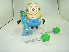 Despicable Me 2 Stuart Action Figure With Fart Gun! 5 Inches New/No Box