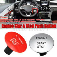 FOR MERCEDES PUSH TO START BUTTON KEYLESS GO ENGINE IGNITION SWITCH  C!