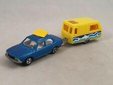 Majorette Renault 18 + Wohnwagen Caravan ST. Tropez Nr. 266 & Nr. 201 1:60