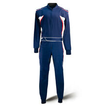 Combinaison tricolore karting bleu-rouge-blanc Speed Racewear HS-3 - T.: 140-4XL