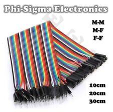 Dupont Jumper Ribbon Cable : M-M/M-F/F-F:10cm/20cm/30cm