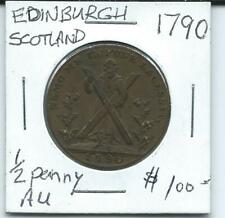 Edinburgh 1790 Half Penny
