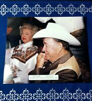 Roy Rogers Dale Evan Original Photograph 1994 Country Western Movie Star Singer