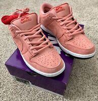 Nike Sb Dunk Pink Pig With Box Mens Size 12 CV1655-600 🔥🐷