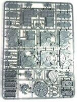 Warhammer 40K Necromunda Barricades and Objectives new on sprue..