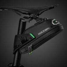 RockBros Cycling Bicycle Waterproof Bike Rear Seatpost Saddle Tail Bag Black S/L