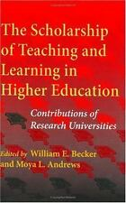 The Scholarship of Teaching and Learning in Higher Education: Contributions of R