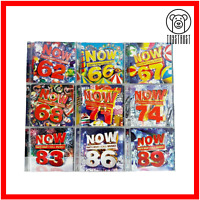 Now That's What I Call Music CD Bundle Joblot Collection 9x Album Pop Music V8