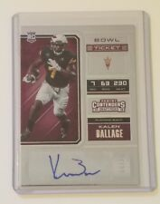 2018 CONTENDERS DRAFT BOWL TICKET AUTO KALEN BALLAGE SER#07/99(ASU)