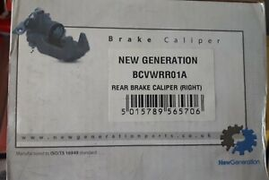 New Generation BCVWRR01A Brake Caliper Audi Skoda VW