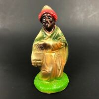 Vintage Christmas Nativity Manger Figure Statue Figurine KING Kingsmen Chalkware