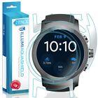 2x iLLumi AquaShield Front Screen + Back Panel Protector for LG Watch Sport