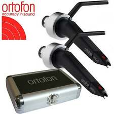 UKDJ ortofon concorde pro s twin pack cartouche & stylet avec flight case