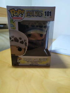 Trafalgar Law, Funko POP! Animation One Piece #101 ORIGINALE. MAI APERTO.