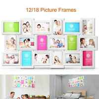 12/18 Photos Large Multi Picture Frame Collage Aperture Decor Memories US