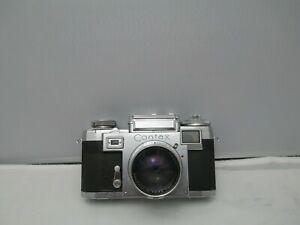 Zeiss Contax iiia Rangefinder Camera 3a NOT TESTED