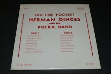 Old Time Hochzeit~Herman Dinges and his Polka Band~Private Label Polka~FAST SHIP