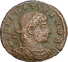 DELMATIUS Dalmatius 335AD Roman Caesar  Coin Legions Glory of Army i33842