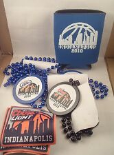 Great Group of 2010 Final Four Necklace Patches Coozie Indy Duke Butler Coors