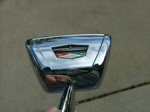 1961-62 Ford Galaxie accessory door mount mirror, NOS! C1AZ-17696-B