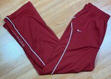 Nike Team Apparel Alabama Crimson Tide NCAA Sweatpants Track Pants Men's SZ L