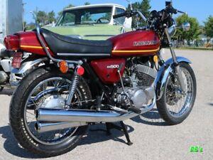 Kawasaki KH500 500 Triple, Burgundy Decal set - The BEST!