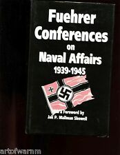 Fuehrer Conferences on Naval Affairs, 1939-1945    HB/dj  VG/VG