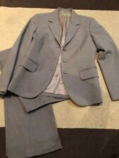 Used ~ United Colors of Benetton Women's Business Suit, Pant Jacket Set, Gray