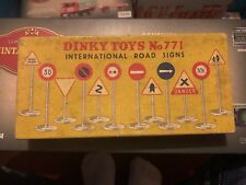 Original Boxed Dinky Toys Number 771 International Road Signs