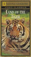 VHS : NATIONAL GEOGRAPHIC LAND OF THE TIGER