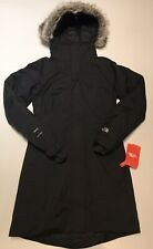 New The North Face Womens X-Small Black Arctic Parka ll Jacket