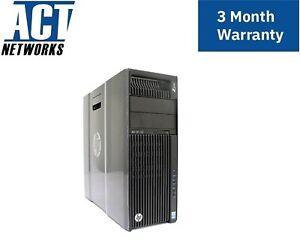HP Z640 2x E5-2667v3 8C/16T 3.2Ghz 64GB Ram 512GB NVMe SSD M4000 925W W10P