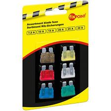 6 x KFZ-Sicherungen Sortiment 7,5 - 30 A Sicherungen KFZ Set 6 Teile 4549