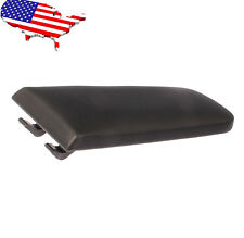 Black Leather Center Console Armrest Cover Lid For VW Jetta Golf MK4 Beetle