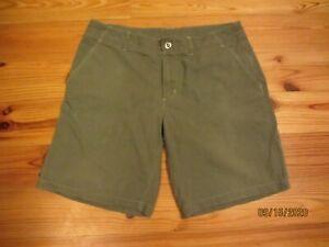 Kuhl Green Quick Dry Hiking Shorts *Mint*  20' Long, Sz. XL, 36x10, $79 MSRP