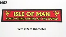 Isle of Man Races Road Racing Capital of the World Sticker 9cm x 2cm