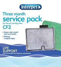 Interpet Three Months Service Filter Cartridge Pack CF2