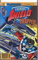 Legend of the Shield 1991 series # 5 UPC code very fine comic book