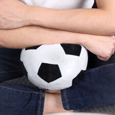 17cm Funny Realistic Soccor Football Plush Stuffed Soft Ball Kids Toy Home Decor
