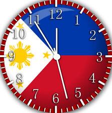 Philippine Flag Frameless Borderless Wall Clock Nice For Gifts or Decor Z203