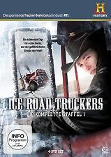 Ice Road Truckers komplette 1.Staffel Neu+in Folie eingeschweißt 4er DvD Set#L2