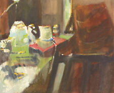Howard J. Morgan (b.1949) - Contemporary Watercolour, Interior Through a Window