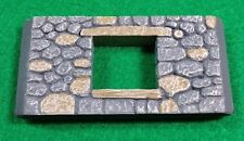 Dwarven Forge Dwarvenite Painted Game Tiles Stone Wall with window WL-005