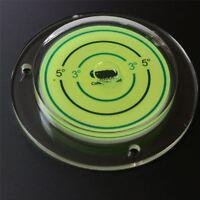Acryl Dosenlibelle 100mm, Große Wasserwaage mit Luftblase, Boden-Wasserwaage