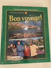 Glencoe Level 2 Learn French Bon Voyage! Teacher Wraparound Edition (Hardcover)